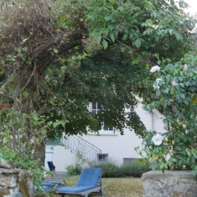 Prive zitjes in tuin